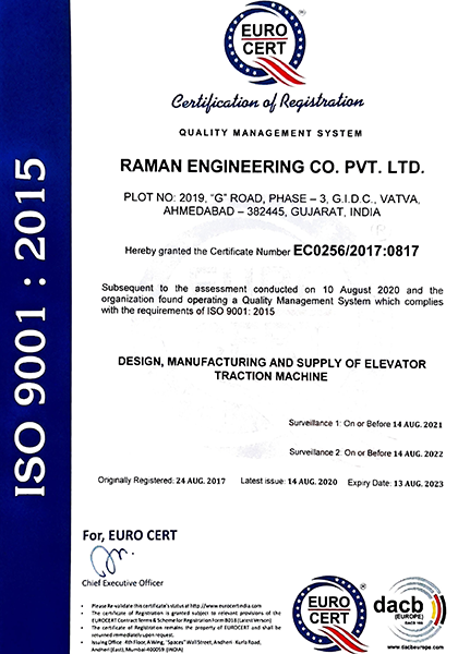 Raman Engineering Co. Pvt. Ltd.